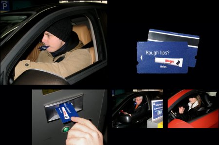 Campagne marketing ticket de parking